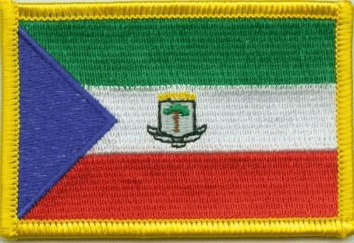 Äquatorialguinea Aufnäher / Patch