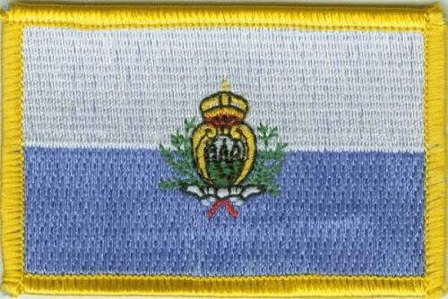 San Marino Aufnäher / Patch