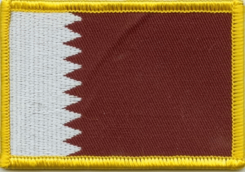 Katar Aufnäher / Patch
