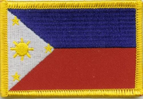 Philippinen Aufnäher / Patch
