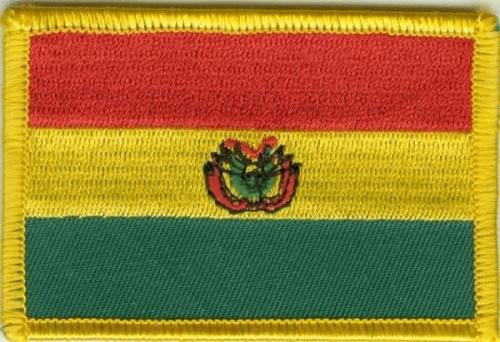 Bolivien Aufnäher / Patch