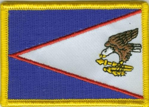 USA Amerikanisch Samoa Aufnäher / Patch