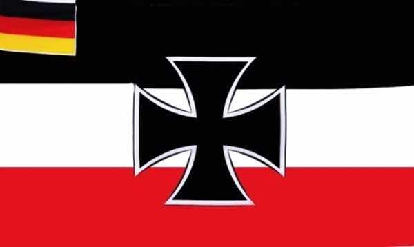 DR- Kriegsflagge 1921-1933 Weimarer Republik Flagge 90x150 cm