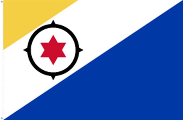 Bonaire (Niederländische Antillen) Flagge 90x150 cm