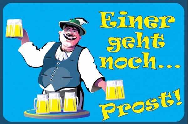 Bier - Einer geht noch Flagge 90x150 cm