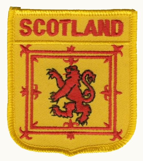 Schottland Royal Wappenaufnäher / Patch
