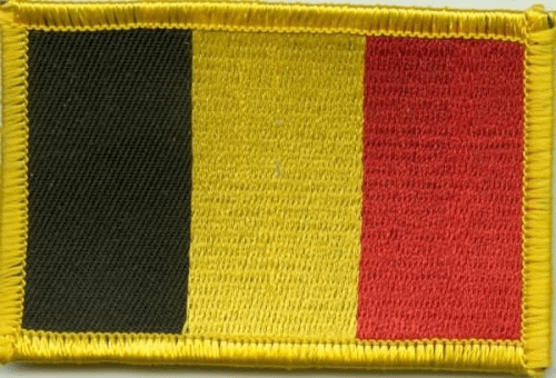 Belgien Aufnäher / Patch