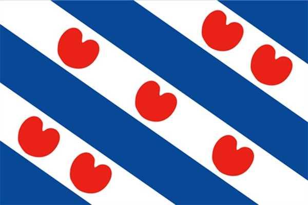 Friesland Niederlande (Provinz) Flagge 90x150 cm