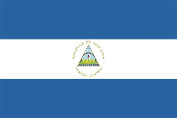 Nicaragua Flagge 90x150 cm
