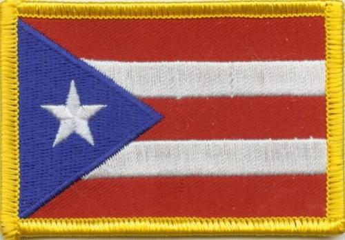 Puerto Rico Aufnäher / Patch