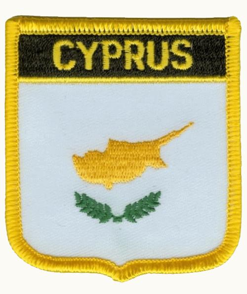 Zypern Wappenaufnäher / Patch