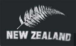 Neuseeland Farn New Zealand Flagge 90x150 cm