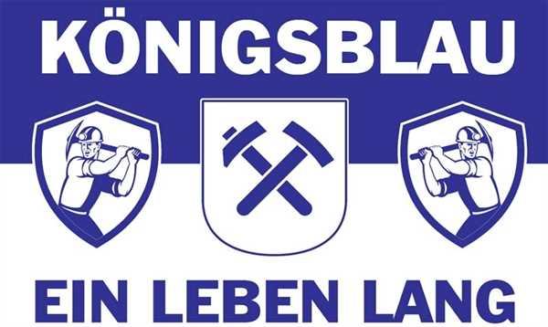Gelsenkirchen Königsblau ein Leben lang 90x150 cm