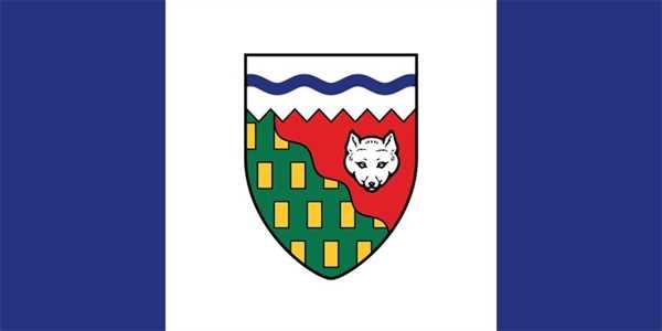 Nordwest Territorium Flagge 90x150 cm
