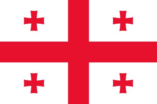Georgien Flagge 90x150 cm