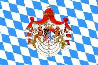 Bayern Königreich Flagge 90x150 cm