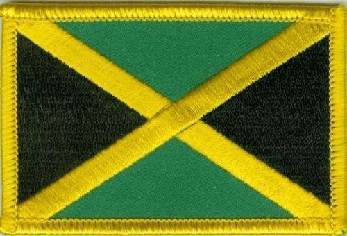 Jamaika Aufnäher / Patch