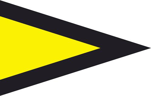 30 x 35 cm Signalflagge T Tango ca