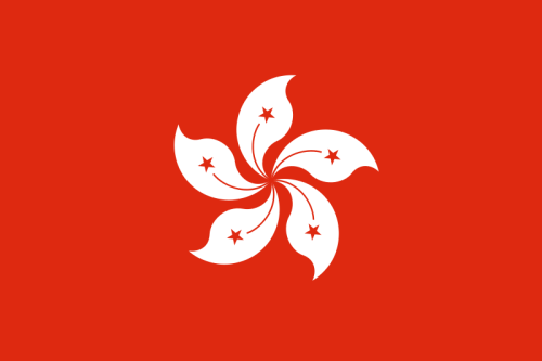 Hong Kong Flagge 90x150 cm
