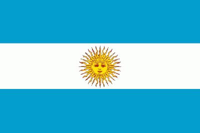 Argentinien Flagge 90x150 cm