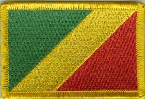 Kongo Brazzaville Aufnäher / Patch