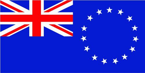 Cook Islands Flagge 90x150 cm
