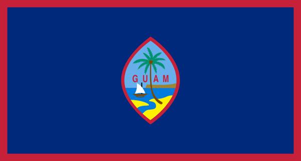Guam Flagge 90x150 cm