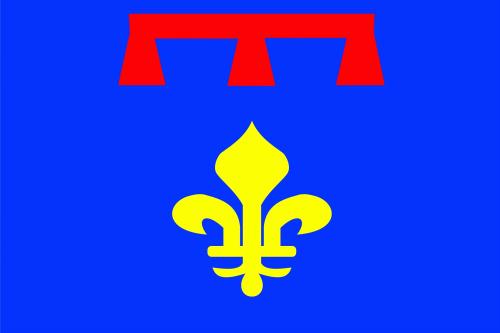 Provence-Alpes-Cote d'Azur Region Flagge 90x150 cm