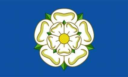 Yorkshire Flagge 90x150 cm