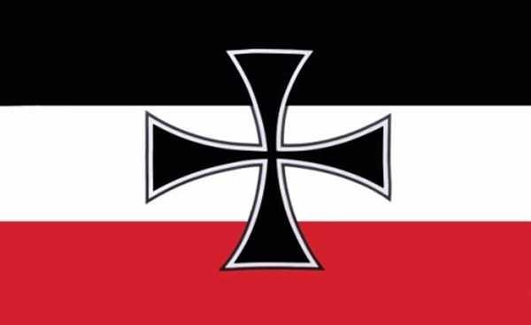 DR- Gösch (1871-1919) Flagge 90x150 cm