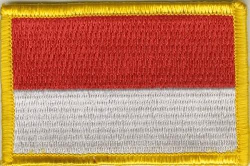 Indonesien Aufnäher / Patch
