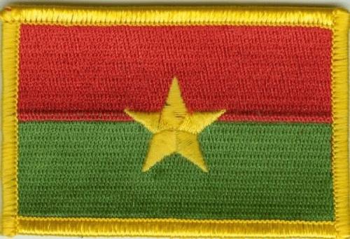 Burkina Faso Aufnäher / Patch