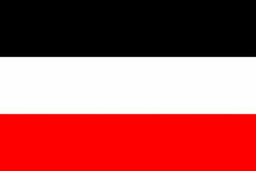 DR- Reichsflagge / Jemen 150x250 cm mit 2 Ösen