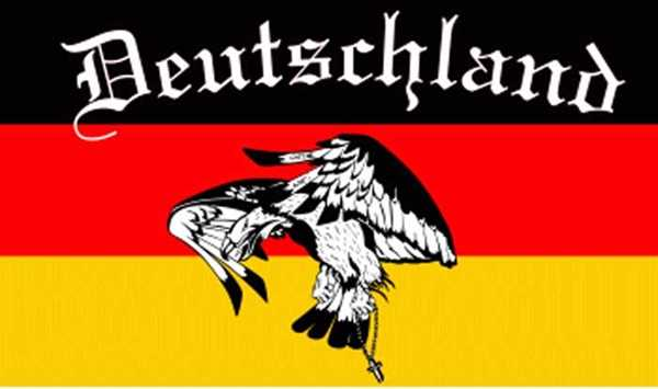 Deutschland 6 Flagge 90x150 cm