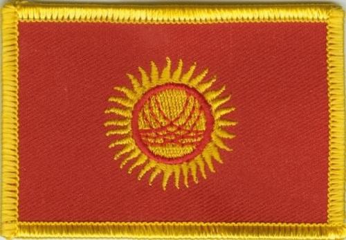 Kirgistan Aufnäher / Patch