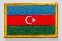 Aserbaidschan Aufnäher / Patch