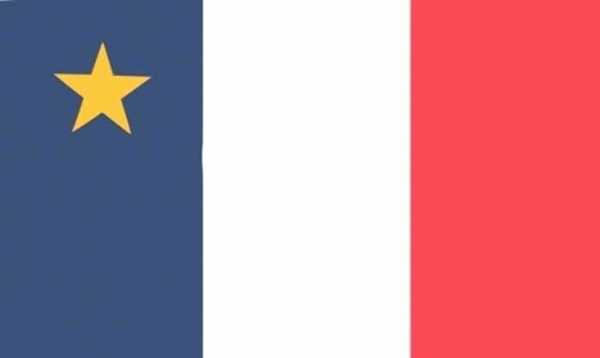 Acadia / Akadier (Region) Flagge 90x150 cm