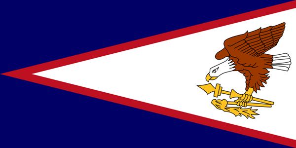 USA Amerikanisch Samoa Flagge 90x150 cm