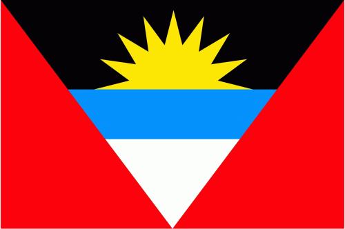 Antigua und Barbuda Flagge 90x150 cm