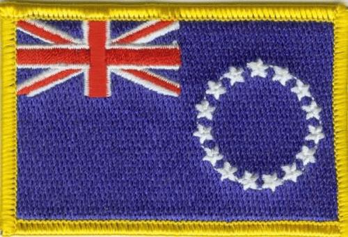 Cook Islands Aufnäher / Patch