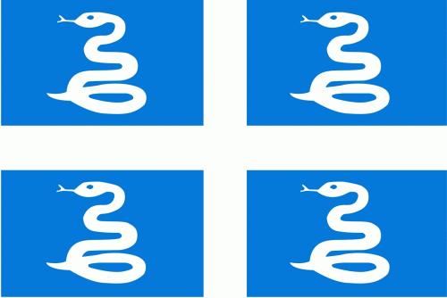 Martinique Flagge 90x150 cm