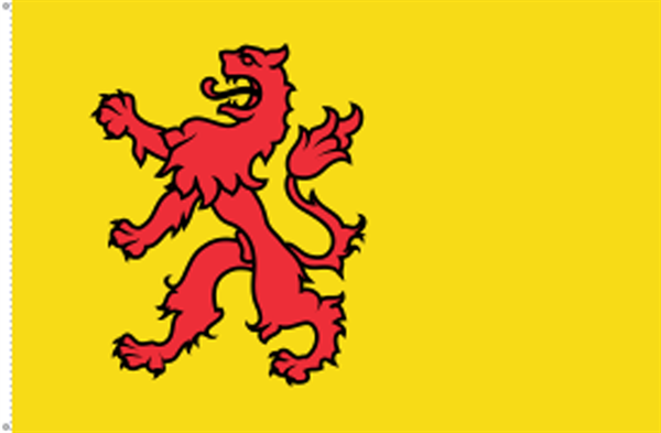 Süd-Holland (Provinz) Flagge 90x150 cm
