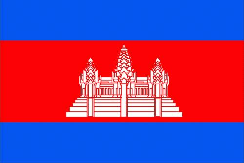 Kambodscha Flagge 90x150 cm