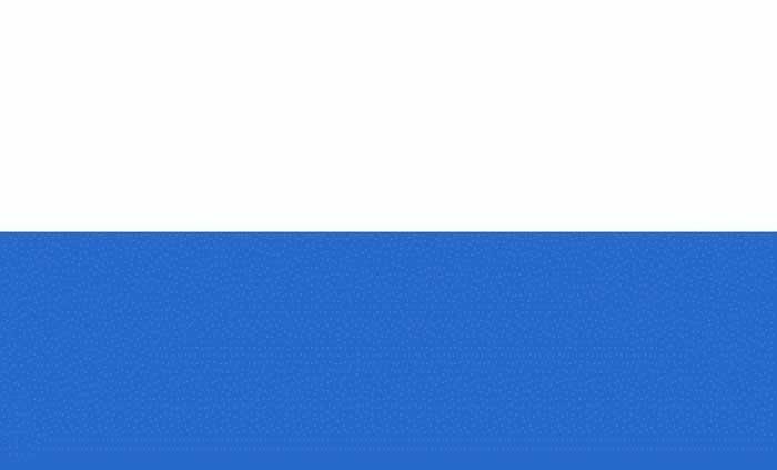 Flagge Grün Weiß Blau