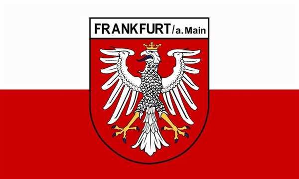 Frankfurt am Main Flagge 90x150 cm