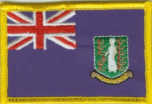 British Virgin Islands Aufnäher / Patch