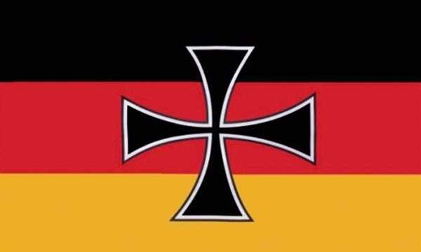 DR- Reichswehrminister Flagge 90x150 cm,160 Dernier(G)