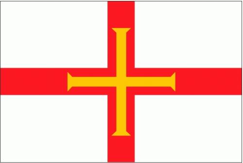 Guernsey Flagge 90x150 cm