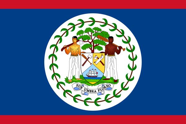 Belize Flagge 90x150 cm