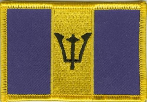 Barbados Aufnäher / Patch